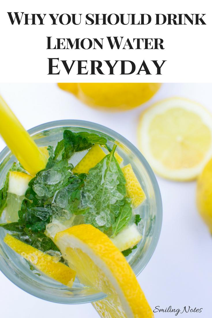 11 Reasons To Drink Lemon Water Everyday