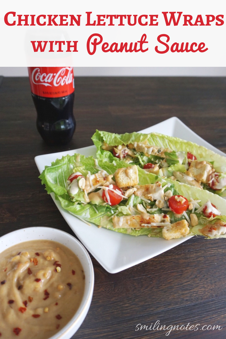 Chicken Lettuce Wraps With Peanut Sauce Win A Trip To Nyc Wine Amp Food Festival