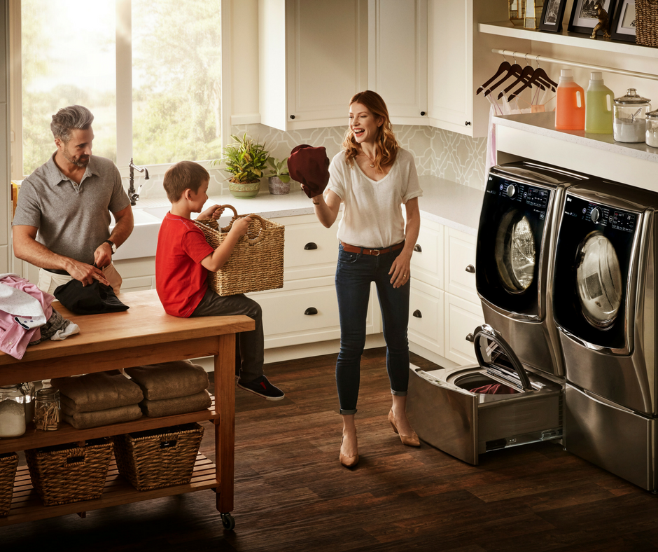 Get your Laundry done more quickly and save upto $500 with LG Twin Wash